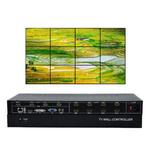 12 channel Video Wall Controller 3x4 Video processor